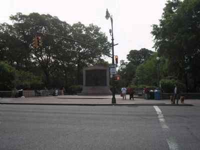 Monument at Prospect Park image. Click for full size.