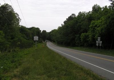 Wide view of the Hart's Mill Marker image. Click for full size.
