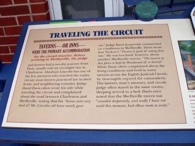 Left Section - - Traveling the Circuit Marker image. Click for full size.