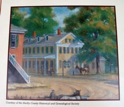 "Middle Section Photo - - ""Tackett's Tavern"" image. Click for full size."
