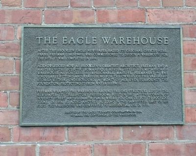 Eagle Warehouse Marker image. Click for full size.