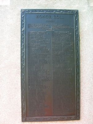 Westport World War I Monument image. Click for full size.
