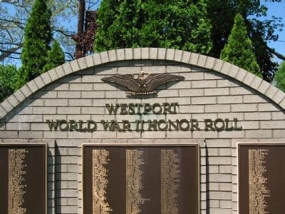 Westport World War II Honor Roll image. Click for full size.