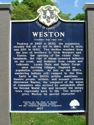 Weston Marker image. Click for full size.