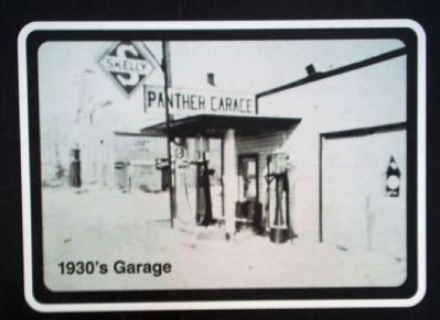 Panther Garage Displayed on Marker image. Click for full size.