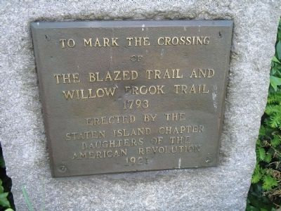 Trail Crossing Marker image. Click for full size.