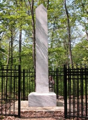 General Leonidas Polk Memorial image. Click for full size.