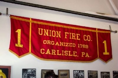 Union Fire Company Banner image. Click for full size.