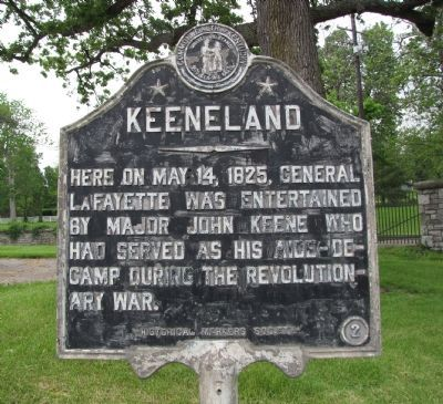 Keeneland Marker image. Click for full size.