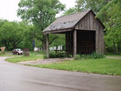"A Picnic Shelter. . . ""EnJoy"" ! ! image. Click for full size."