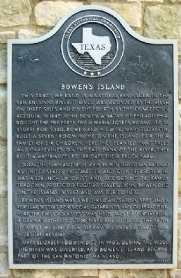 Bowen's Island Marker image. Click for full size.