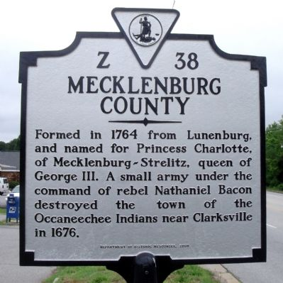 Mecklenburg County image. Click for full size.