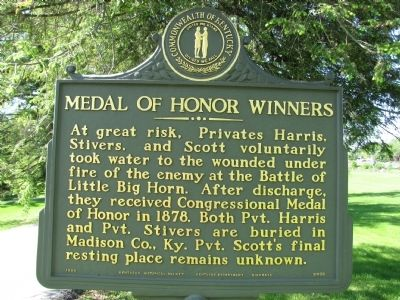 Medal of Honor Winners Marker image. Click for full size.