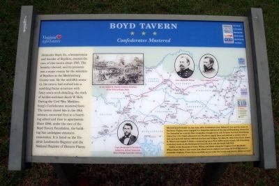 Boyd Tavern CWT Marker image. Click for full size.