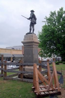 Confederate Monument (rear) image. Click for full size.