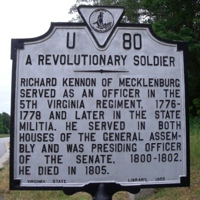 A Revolutionary Soldier Marker image. Click for full size.