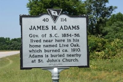 James H. Adams Marker image. Click for full size.