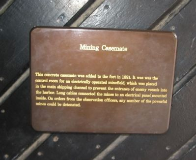 Mining Casemate Marker image. Click for full size.
