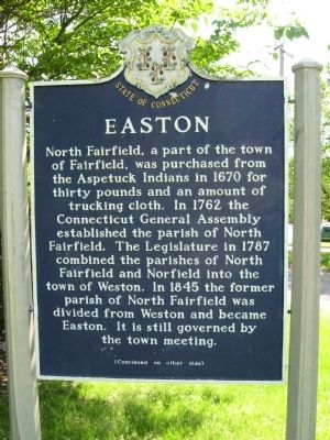 Easton Marker image. Click for full size.