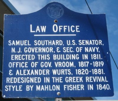 Law Office Marker image. Click for full size.
