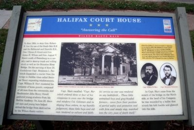 Halifax Court House CWT Marker image. Click for full size.