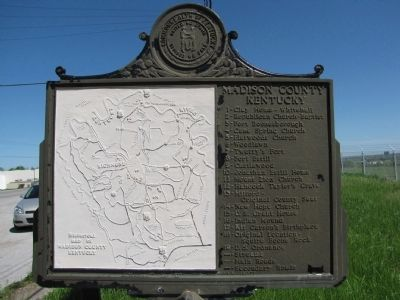 Battle of Richmond, Ky. Marker image. Click for full size.
