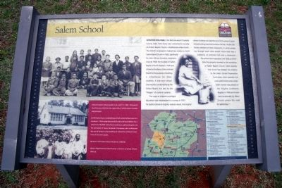 Salem School CRIEHT Marker image. Click for full size.