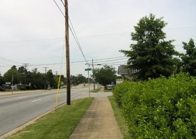 Wide view of the Guilford County Health Department Marker image. Click for full size.