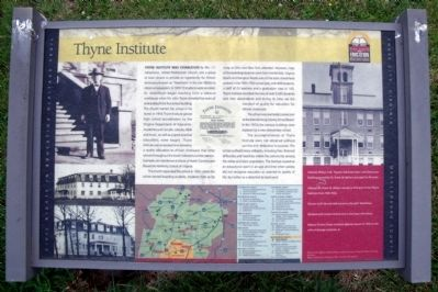 Thyne Institute CRIEHT Marker image. Click for full size.