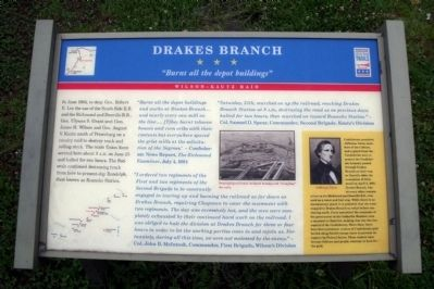 Drakes Branch CWT Marker image. Click for full size.