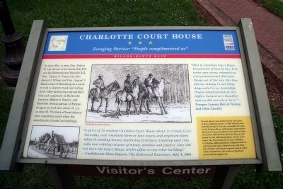 Charlotte Court House CWT Marker image. Click for full size.