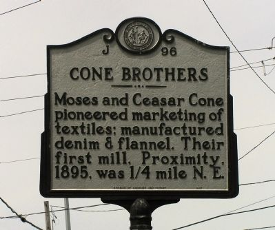 Cone Brothers Marker image. Click for full size.