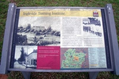 Ingleside Training Institute CRIEHT Marker image. Click for full size.