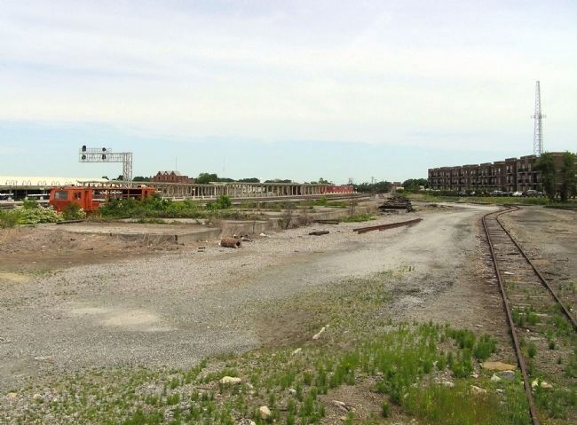 Greensboro Railyard image. Click for full size.