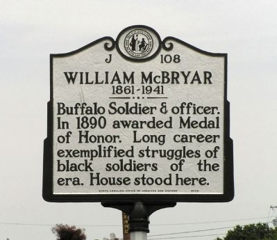 William McBryar Marker image. Click for full size.