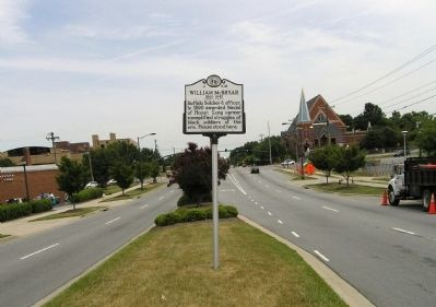 Wide view of the William McBryar Marker image. Click for full size.