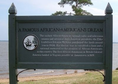 A Famous African American Dream Marker image. Click for full size.