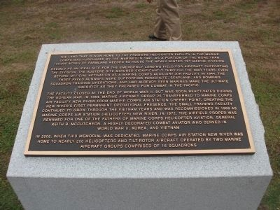 New River Aviation Memorial Marker image. Click for full size.