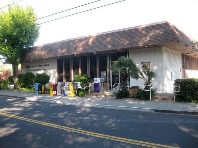 Moraga Post Office and Old Moraga Townsite Marker image. Click for full size.