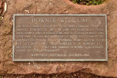 Downer Well Cap Marker image. Click for full size.