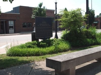 Obverse Side - - Champaign Historic Site Marker image. Click for full size.
