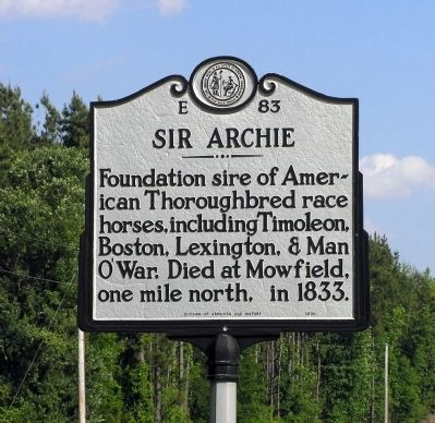 Sir Archie Marker image. Click for full size.