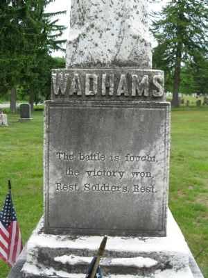 Wadhams Brothers Memorial image. Click for full size.
