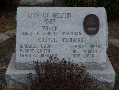 The Belton Standpipe Marker image. Click for full size.