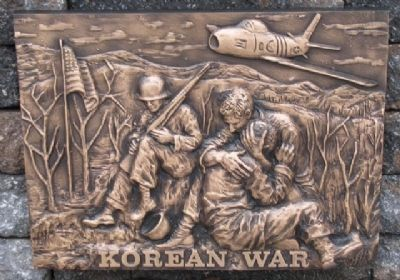 Korean War Relief image. Click for full size.