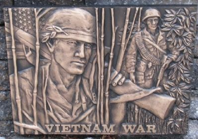 Vietnam War Relief image. Click for full size.
