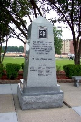 82d Infantry Division Memorial image. Click for full size.