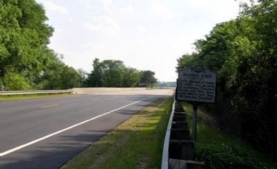 Wide view of the Roanoke River Marker image. Click for full size.