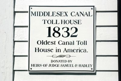 Oldest Toll House Marker image. Click for full size.