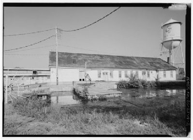 Graniteville Mill Supply room building image. Click for full size.